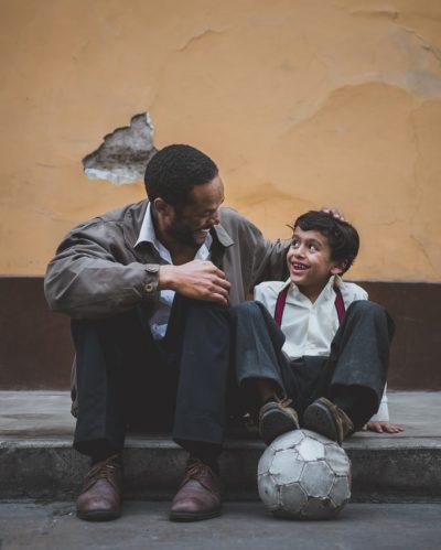 Vader en kind